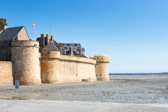 Le Mont Saint Michel, Normandy, France 2015 Royalty Free Stock Photos