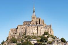 Le Mont Saint Michel, Normandy, France 2015 Stock Photos
