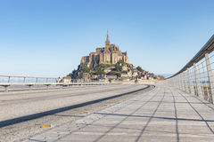 Le Mont Saint Michel, Normandy, France 2015 Stock Photo