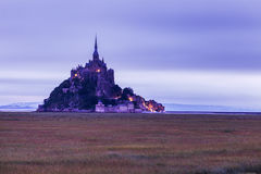 Le Mont Saint-Michel Stock Photos