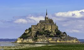 Le Mont Saint Michel - Normandy, France. Le Mont Saint Michel in Normandy, France royalty free stock photo