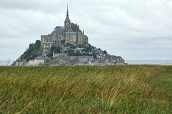 Le Mont-Saint-Michel (Normandy, France) Stock Images