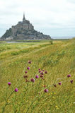 Le Mont-Saint-Michel (Normandy, France) Stock Image