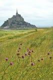Le Mont-Saint-Michel (Normandy, France) Stock Image