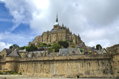Le Mont-Saint-Michel (Normandy, France) Royalty Free Stock Photos