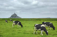 Le Mont-Saint-Michel (Normandy, France) Royalty Free Stock Photo