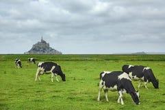 Le Mont-Saint-Michel (Normandy, France) Royalty Free Stock Photo