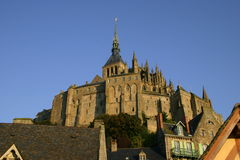 Le Mont Saint Michel Abby Stock Photo