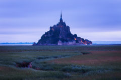 Le Mont Saint-Michel Stock Image