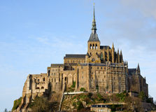 Le Mont saint michel w Normandy, Francja Obraz Royalty Free
