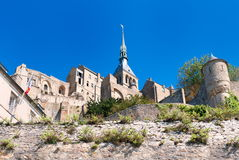 Le Mont Saint Michele, France Image libre de droits
