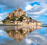 Le Mont Saint Michele, France Royalty Free Stock Photography