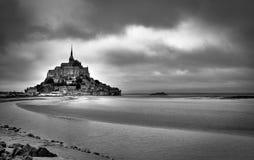 Le-Mont-Santo-Miguel II Fotos de archivo libres de regalías