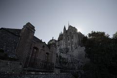 Le Mont-Santo-Miguel, Normandía, Francia Imagen de archivo libre de regalías
