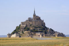 Le Mont St Michel royalty free stock photography