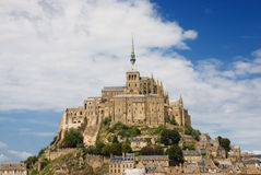 Le Mont St. Michel 2 Foto de Stock Royalty Free