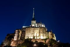 Le Mont St Michel Normandy, France Stock Image