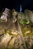 Le Mont St Miguel en Normandie, Francia Foto de archivo