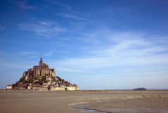 Le Mont-Str.-Michel Stockbild