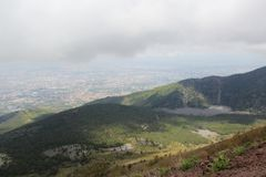 Le mont Vésuve Photos libres de droits