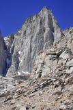 Le Mont Whitney, la Californie 14er et clou d'état Images libres de droits