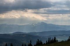Le montagne Fotografie Stock Libere da Diritti