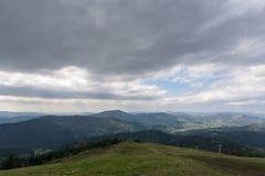 Le montagne Fotografia Stock