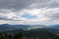 Le montagne Fotografie Stock