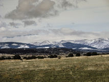 Le montagne bagnate di Colorado del sud Immagine Stock Libera da Diritti