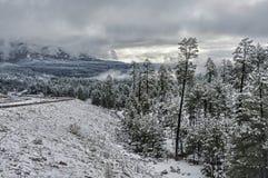 Le montagne bianche Fotografia Stock Libera da Diritti