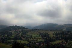 Le montagne carpatiche dalla Romania Immagine Stock Libera da Diritti