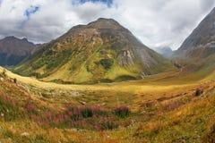 Le montagne dell'Italia del Nord Immagine Stock