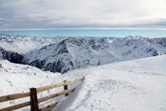 Le montagne delle alpi Fotografie Stock