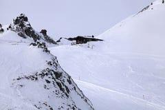 Le montagne delle alpi Fotografie Stock Libere da Diritti