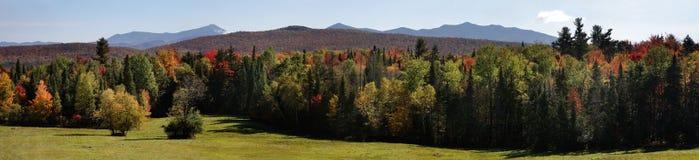 Le montagne di Adirondack Immagine Stock