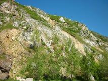 Le montagne di Altai Gorno-Altajsk Fotografia Stock