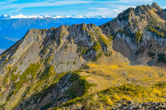 Le montagne di Caucaso Immagine Stock Libera da Diritti