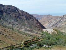 Le montagne di Fuerteventura Immagini Stock