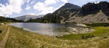 Le montagne di Pirin Fotografie Stock Libere da Diritti