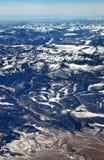 Le montagne di San Juan nei Colorado Rockies immagine stock