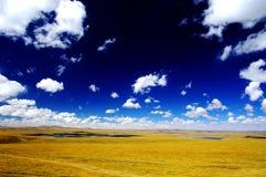 Le montagne di Tanggula Fotografia Stock Libera da Diritti