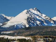 Le montagne di Tatra Fotografia Stock