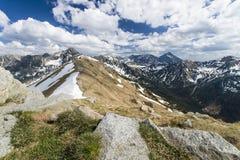 Le montagne di Tatra Immagine Stock Libera da Diritti