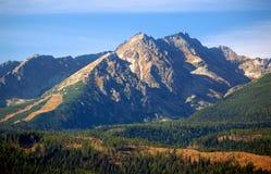 Le montagne di Tatra in estate Immagine Stock Libera da Diritti