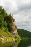 Le montagne di Ural Immagine Stock