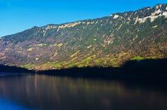 Le montagne e le valli Fotografia Stock