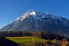 Le montagne e le valli Immagine Stock Libera da Diritti