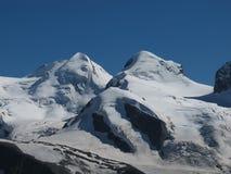 Le montagne hanno chiamato Zwillinge (Twinns) Immagine Stock Libera da Diritti