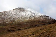 Le montagne in inverno, Irlanda di Galtee Immagine Stock