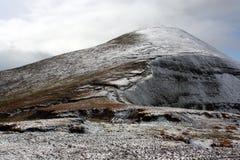 Le montagne in inverno, Irlanda di Galtee Immagini Stock